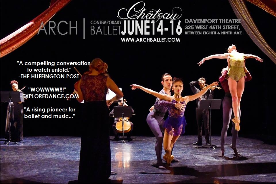 Chateau june 14 16 in nyc presented by the davenport for Contemporary dance new york