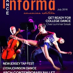 Arch Contemporary Ballet Cover Dance Informa Magazine Sheena Annalise Ballet NYC